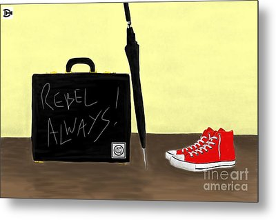 Always...rebel.... Metal Print