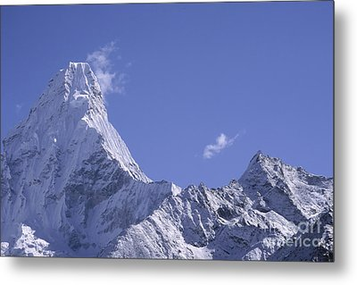 Metal Print featuring the photograph Ama Dablam Nepal by Rudi Prott