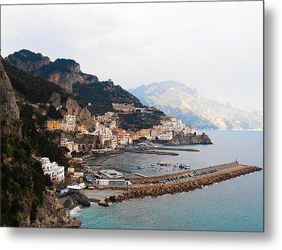 Amalfi Italy Metal Print by Bill Cannon