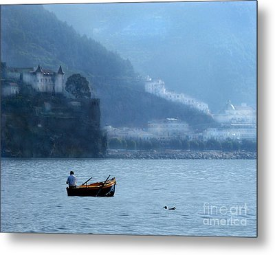 Metal Print featuring the photograph Amalfi To Capri. Italy by Jennie Breeze