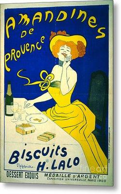 Amandines De Provence 1900 Metal Print