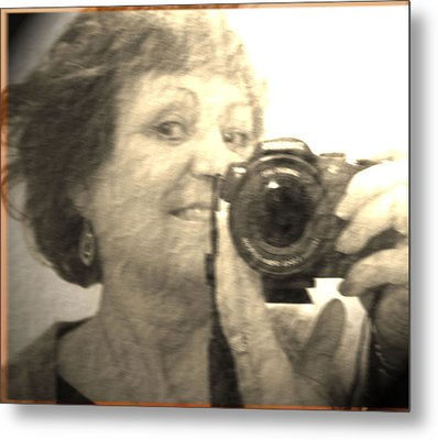 Amateur 2 Metal Print by Maria  Disley