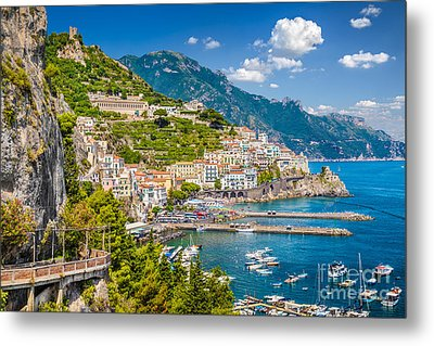 Amazing Amalfi Metal Print by JR Photography