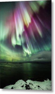 Amazing Auroras Metal Print