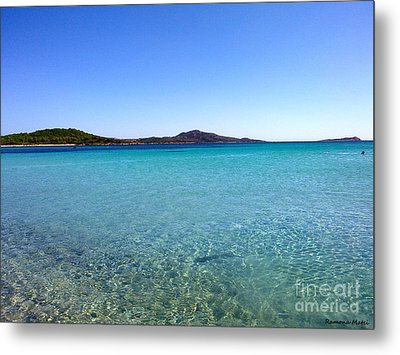 Metal Print featuring the photograph Amazing Blue by Ramona Matei