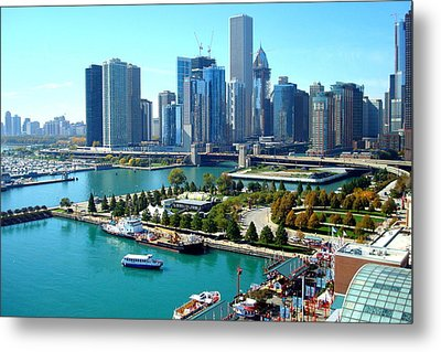 Amazing Chicago Metal Print by Kay Gilley
