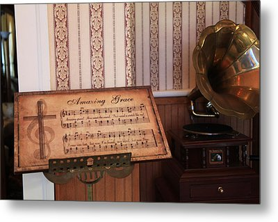 Amazing Grace Metal Print by Toni Hopper