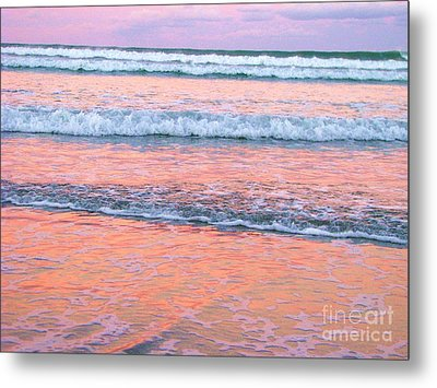 Amazing Pink Sunset Metal Print