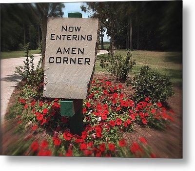 Amen Corner - A Golfers Dream Metal Print