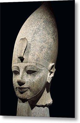 Amenhotep IIi. S.xiv Bc. 18th Dynasty Metal Print