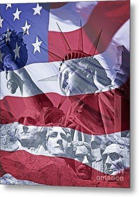 America Metal Print by Edmund Nagele