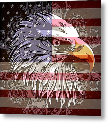 America The Beautiful Metal Print by Stanley Mathis
