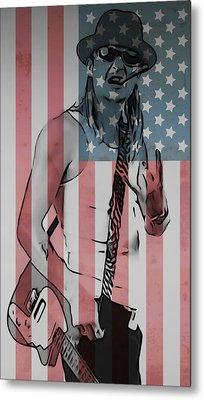 American Badass Metal Print