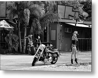 American Classic Metal Print by Laura Fasulo