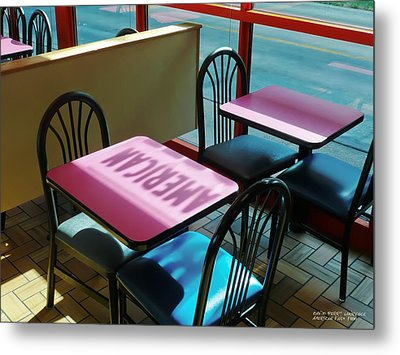 Metal Print featuring the photograph American Fast Food by David Perry Lawrence