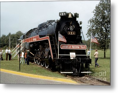Metal Print featuring the photograph American Freedom Train - 1975 by ELDavis Photography