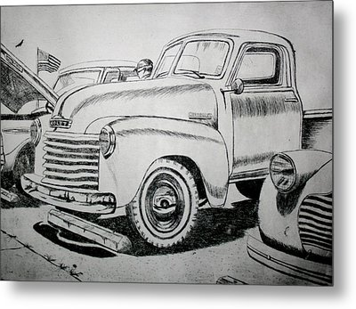 American Made Metal Print by Stacy C Bottoms