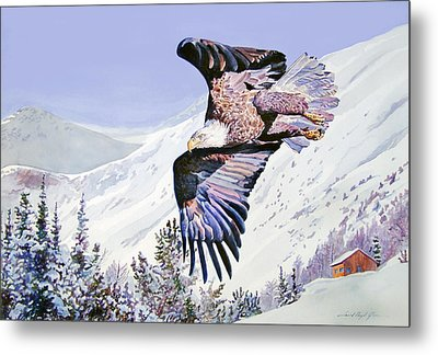 American Majesty  Metal Print by David Lloyd Glover