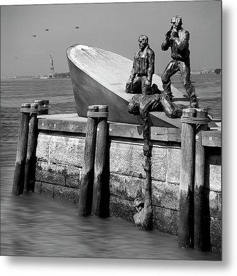 American Merchant Mariners Memorial Metal Print by Mike McGlothlen