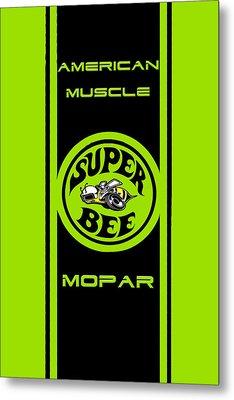 American Muscle - Mopar Metal Print