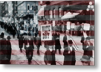 American Prohibition March Metal Print