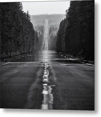 American Road Trip Metal Print