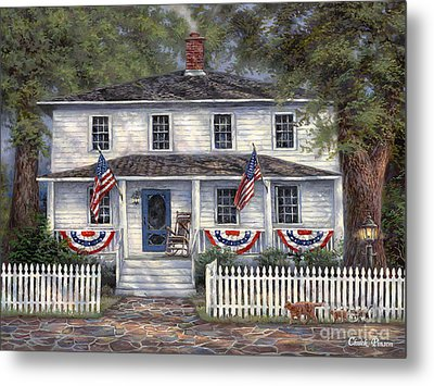 American Roots Metal Print by Chuck Pinson