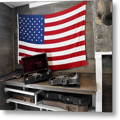 American Tradition Metal Print by JAMART Photography