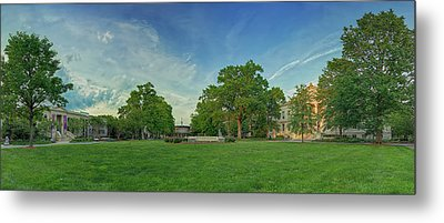 American University Quad Metal Print by Metro DC Photography