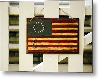 Metal Print featuring the photograph Americana by James Kirkikis