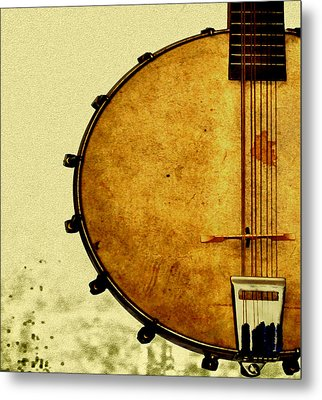 Americana Music Metal Print by Bill Cannon