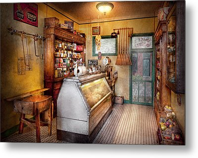 Americana - Store - At The Local Grocers Metal Print by Mike Savad