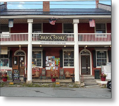 America's Oldest General Store Metal Print by Catherine Gagne