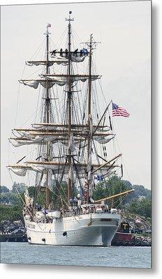 Americas Tall Ship The Eagle Metal Print by Marianne Campolongo