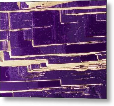 Amethyst Metal Print