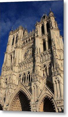 Amiens Cathedral France Metal Print by Aidan Moran