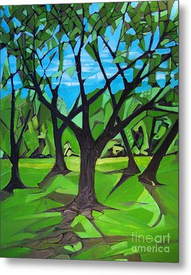 Amigos - Trees Botanicals Metal Print by Grace Liberator
