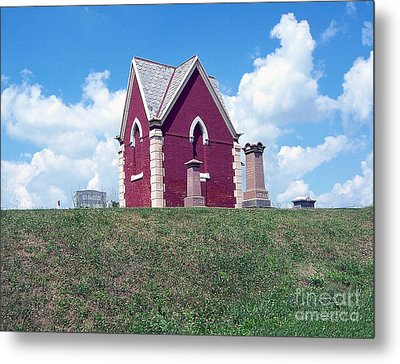 Metal Print featuring the photograph Amish Cemetery by Gena Weiser