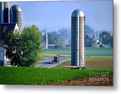Amish Country  Metal Print by Dyle   Warren