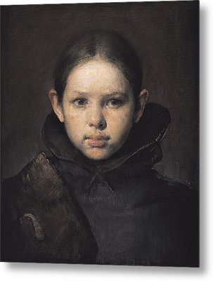 Amo Metal Print by Odd Nerdrum