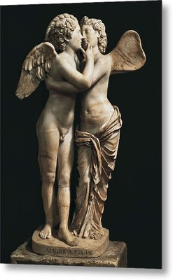 Amor And Psyche. 1st C. Hellenistic Metal Print by Everett