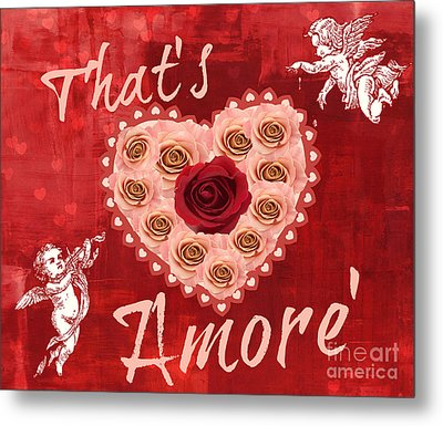 Amore Valentine Metal Print by Mindy Bench