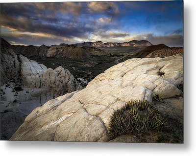 Amphitheater Of Snow Canyon Metal Print by Nick Oman