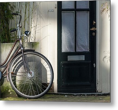 Amsterdam Bicycle #1 Metal Print