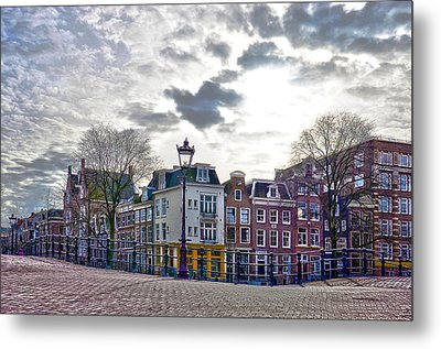 Amsterdam Bridges Metal Print