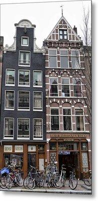 Amsterdam Hash Museum Metal Print