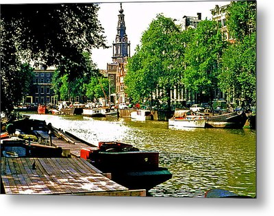 Metal Print featuring the photograph Amsterdam by Ira Shander