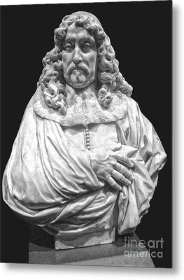 Amsterdam Rijksmuseum Classic Bust - 09 Metal Print by Gregory Dyer