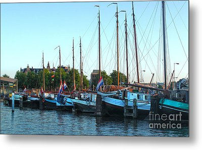 Amsterdam Sailing Ship - 06 Metal Print by Gregory Dyer