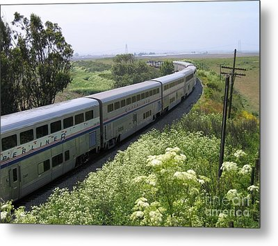 Metal Print featuring the photograph Coast Starlight At Dolan Road by James B Toy